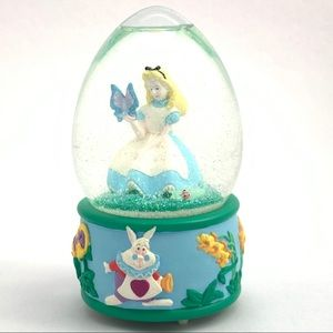 Alice in Wonderland Disney Store Snowglobe Musical